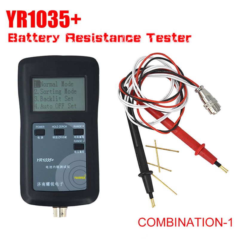 Dutiful New Original Four-line Yr1035 Lithium Battery Internal Resistance Meter Tester Yr 1035 Detector 18650 Dry Battery Combination 1