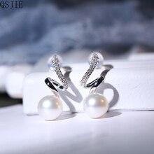 High Quality 1:1 Swa New Pearl Ear Nails pearl earrings