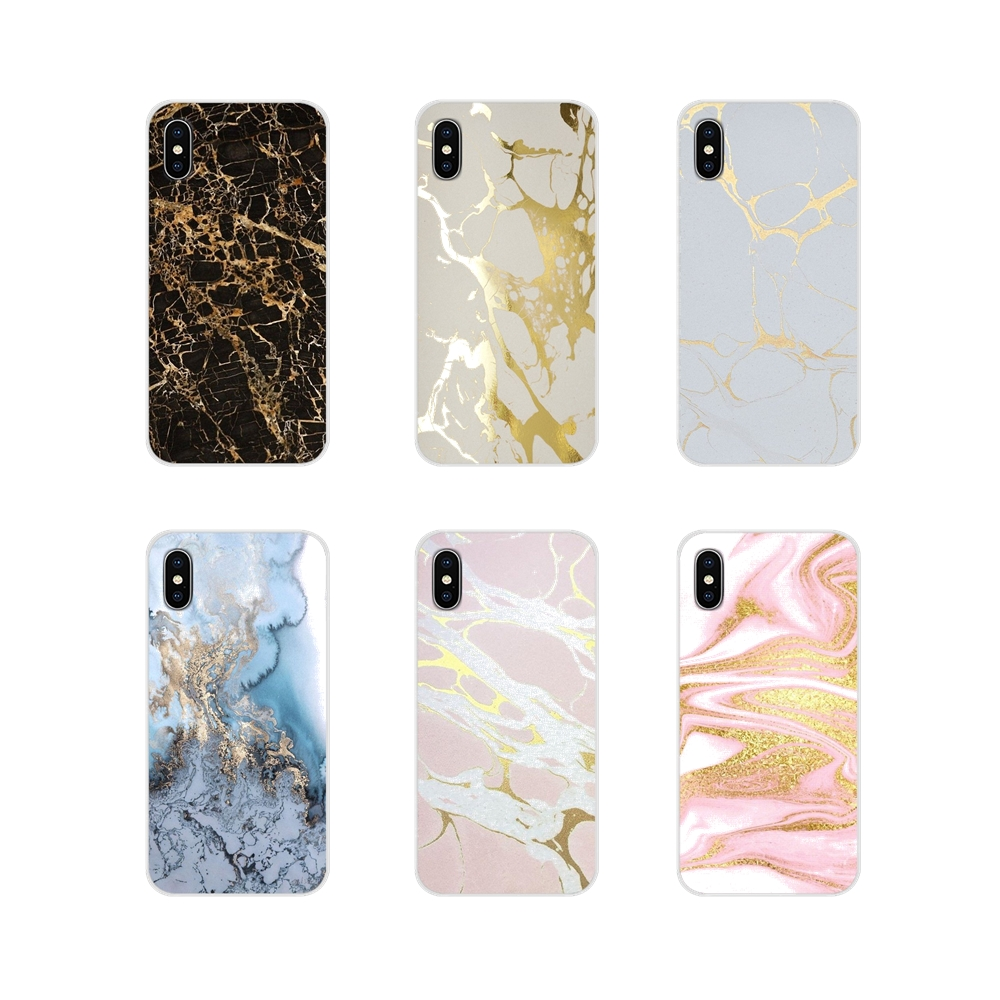 For Oneplus 3T 5T 6T <font><b>Nokia</b></font> 2 3 5 6 8 9 <font><b>230</b></font> 3310 2.1 3.1 5.1 7 Plus 2017 2018 Accessories Phone Cases <font><b>Covers</b></font> Gold Marble image