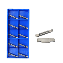 10PCS MGGN250 G H01 High Quality Fine Grinding Groove Blade CNC Grooving Turning Tools