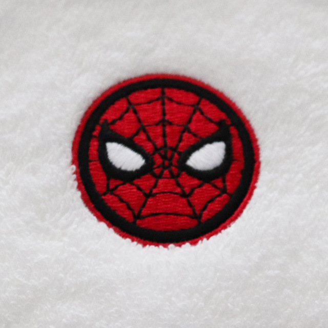 Disney MARVEL adult child washing towels 34*75 cm badge embroidery cool edition Men face towel thick and soft