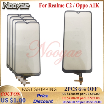 For OPPO A1K / Realme C2 USB Dock Charger Charging Port Plug Flex Cable Mic Microphone Touch Screen Digitizer Sensor SIM Tray image