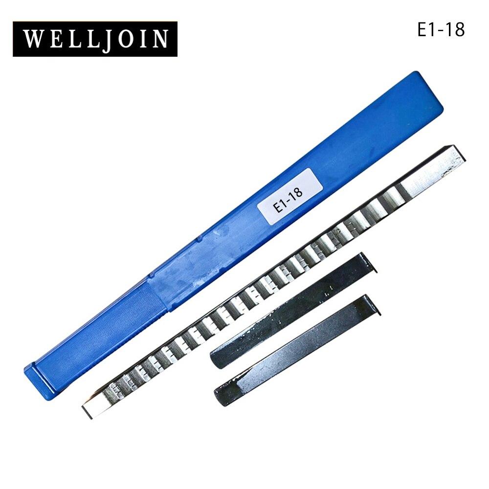 Ferramenta de Corte Espeto com Calço para a Máquina 18mm e Push-tipo Keyway Broach Tamanho Metric Faca Cnc Hss