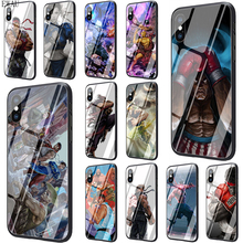 Get more info on the EWAU Game street fighters Tempered Glass phone case for iphone 5 5s SE 6 6s 7 8 plus X XR XS 11 pro Max
