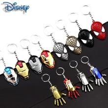New fashion Avengers Batman Spiderman Superman badge doll keychain for leather bag car keychain chain ladies men's jewelry
