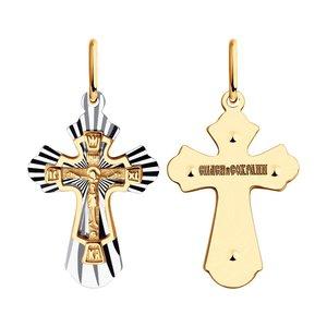 Подвеска SOKOLOV из золота с алмазной гранью
