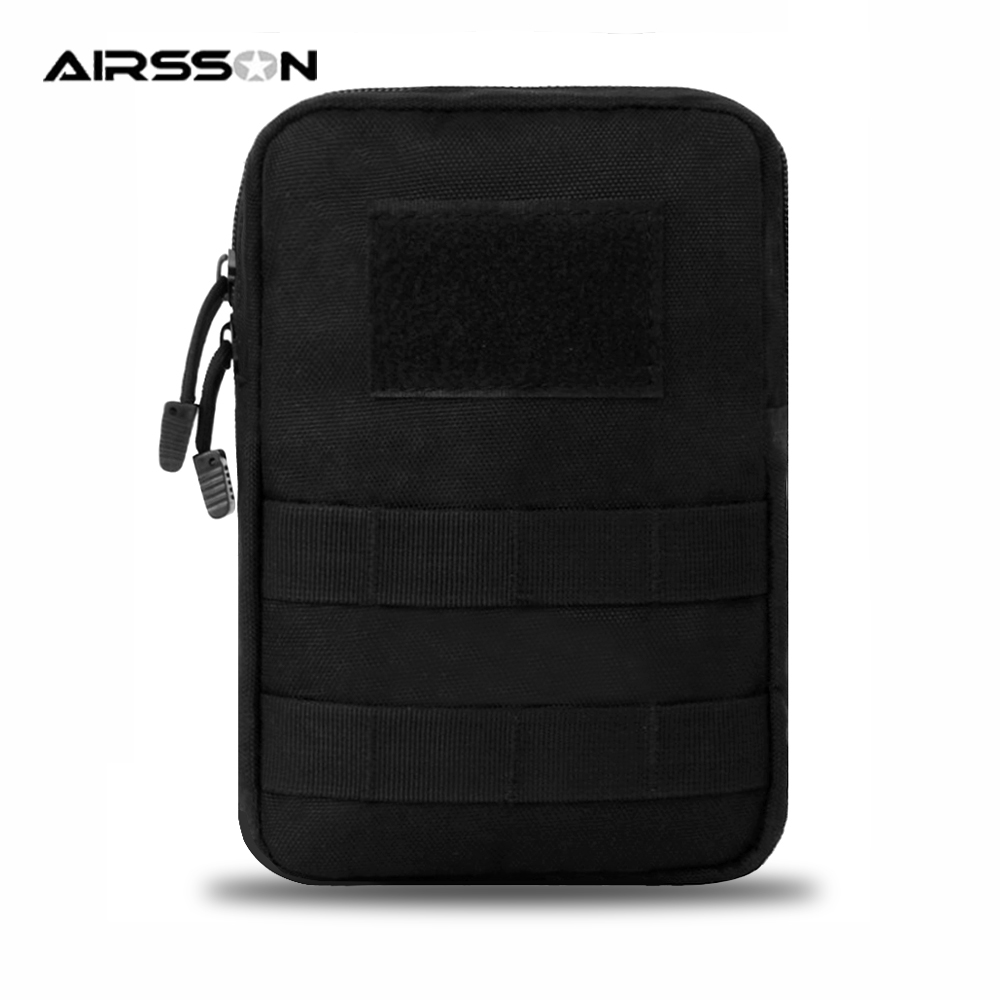 Airsson Tactical MOLLE Pouch 600D Military Waist Pack Bag For Belt Backpack Utility EDC Gadget Outdoor Airsoft Hunting Accessory|Hunting Bags| |  - title=
