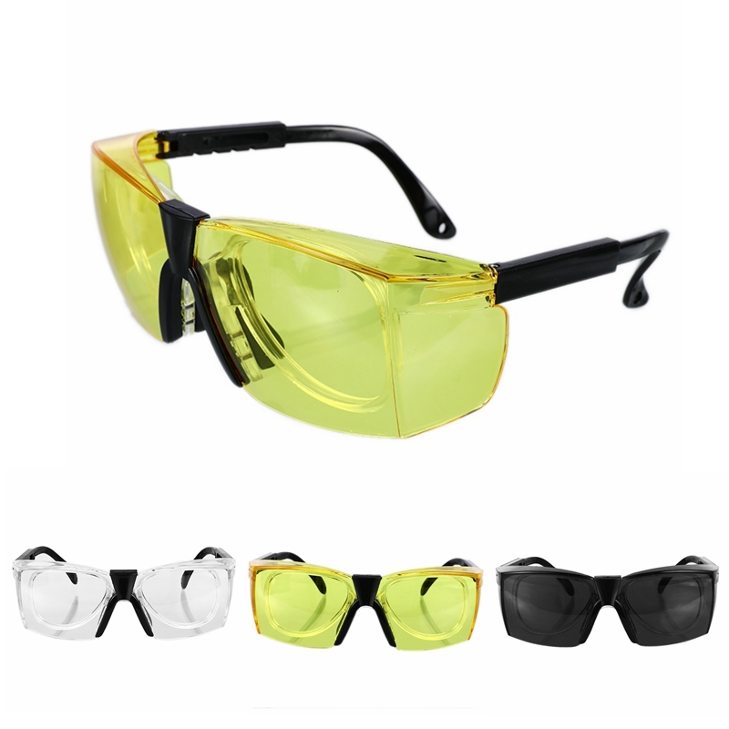 Anti-Splash Work Safety Goggles Wind Dust Proof Protective Glasses Optical Lens Frame For Work Lab Cycling Eyes Protector