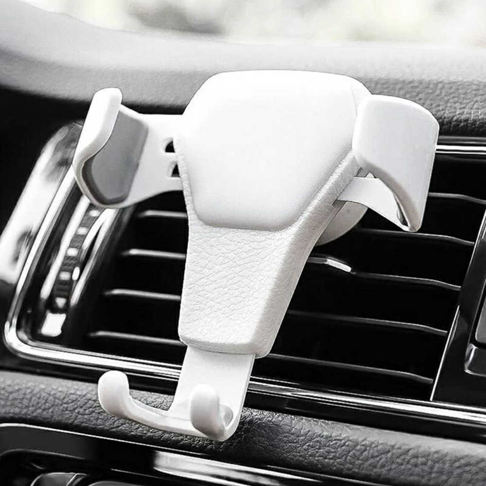 1PC Vehicular Gravity Outlet Brackets Support Universal Car Air Vent Mount Cradle Holder Stand for Mobile Phone GPS Navigator