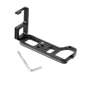 Image 1 - L Type Ball Head Quick Release Plate QR Mounting Bracket Board Mount for Sony a7II /A7R2 /A7M2 Arca Tripod Camera Spare Parts