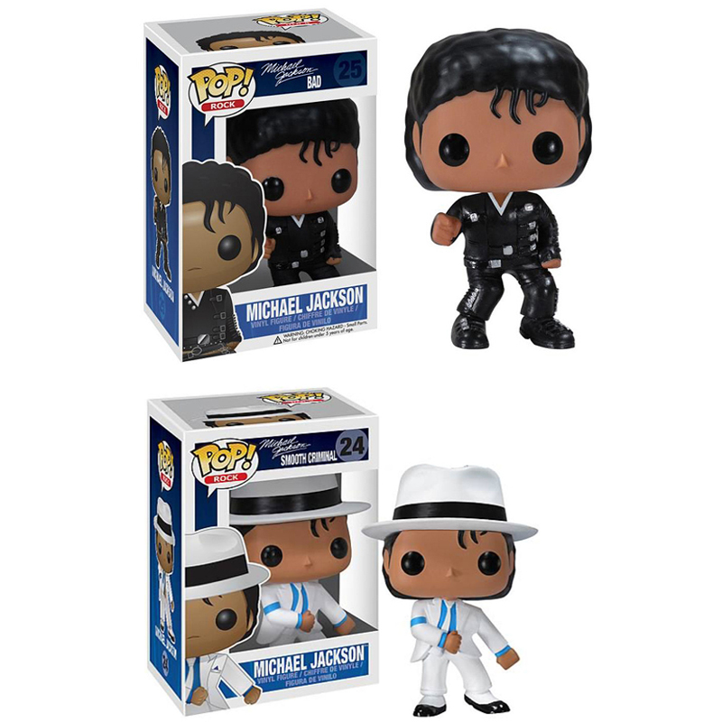 Funko POP Billie Jean Dangerous Beat It MICHAEL JACKSON Action Figure Collection Model Vinyl Doll Toys For Kids Birthday Gift