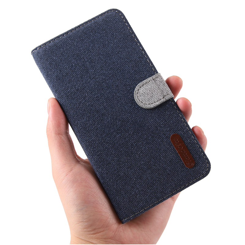 Magnet Leather Case For Samsung Galaxy J7 J5 J3 2017 2016 J2 Prime Core Cloth Flip Book Case For Samsung J6 J4 Plus Prime 2018 image