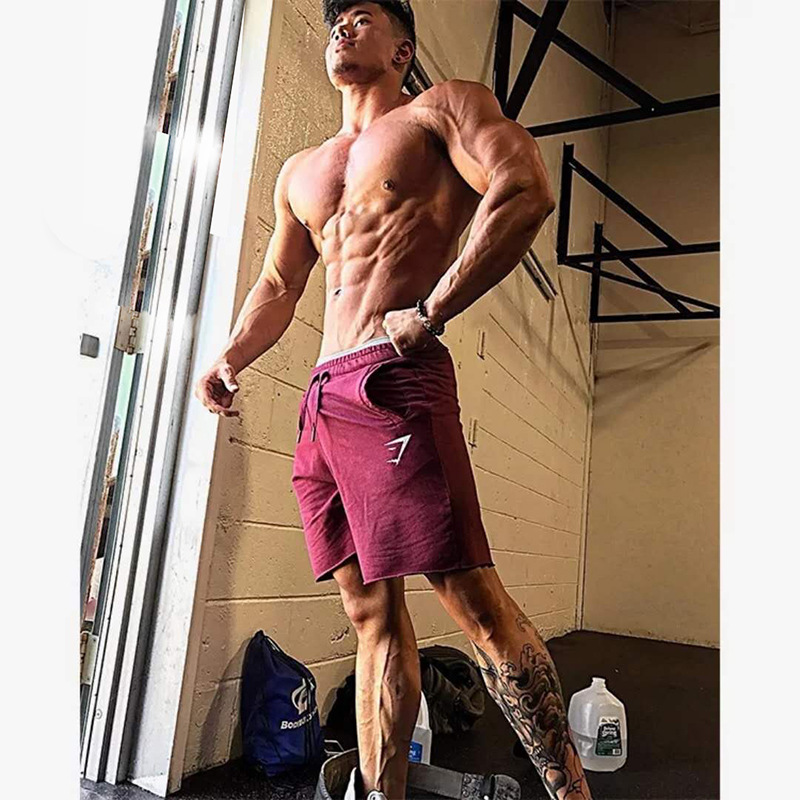 New Summer Sports Jogging Fitness Quick Drying Shorts Gym Shorts Pocket Loose And Breathable Shorts