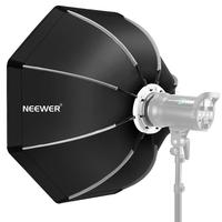 Neewer 35.4 inches/90 centimeters Foldable Octagonal Softbox with Bowens Mount Speedring, Carrying Case for Speedlite Studio