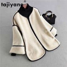 Natural Fur Coat Female Autumn Winter Jacket Women Clothes 2020 Vintage Short Sh