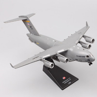 1:200 Scale Amer USAF 2010 Boeing C 17A Globemaster III big military transport aircraft plane diecast vehicle model toy fighter