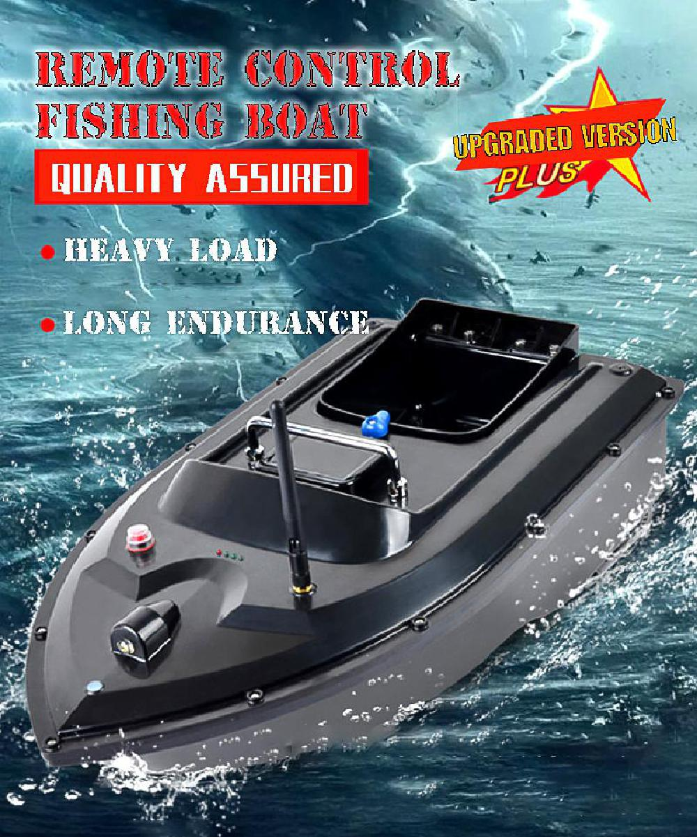 500m Double Motor Intelligent Fish Boat 180 Minutes Long Endurance Speedboat Fish Finder Ship Boat With Eu Charger Us/uk Charger