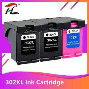 3 пакета совместимый 302XL чернильный картридж для HP 302 XL для hp302 для HP Deskjet 2130 2135 1110 3630 3632 Officejet 3830 3834 4650