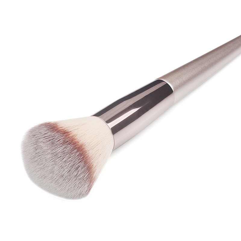 10 tamanho de luxo pincéis maquiagem fundação de madeira cosméticos sobrancelha sombra escova define ferramentas cosméticos tools como maquillaje