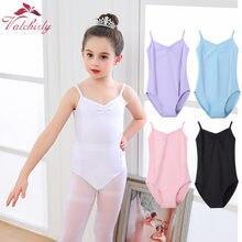 New Girls Camisole Ballet Leotard Dancewear Cotton Gymnastics Leotard Strap Ballet Leotard Dress