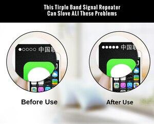 Image 4 - 2G 3G 4G Gsm Signaal Repeater 900/1800/2100 Tri Band Mobiele Booster 3 Pcs Interne Antenne set Gsm Dcs Lte Wcdma 4G Versterker Set