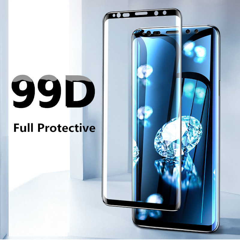 Screen protector Film For Samsung Galaxy S8 S9 Plus S7 edge Note 8 9 Screen Protector For Galaxy Note 10  S6 Edge Film Not Glass-in Phone Screen Protectors from Cellphones & Telecommunications