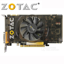 ZOTAC Grafikkarte GeForce GTX 550 Ti 1GD5 GDDR5 192Bit Grafiken Karten für nVIDIA GTX 500 serie Karte GTX550Ti 1GD5 dvi VGA Verwendet
