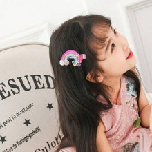 Girls Hair Clips Cute Cartoon Design Hair Pin Children Hairpin Set Princess Hair Accessories New(China)