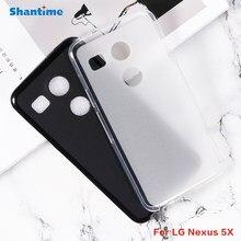 Para LG Nexus 5X Gel Pudim Silicone Telefone Capa Protetora Shell Para LG Nexus 5X Caso TPU Macio