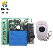 433MHz Universal wireless Remote Control rf Relay 12V 10A 1CH Receiver and Transmitter DIY Wireless Switch On/Off controler