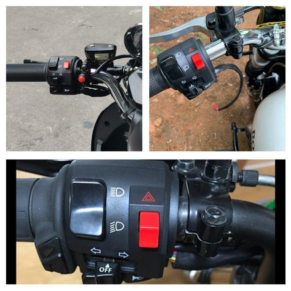 Controlador de guidão modificado para motocicleta, para