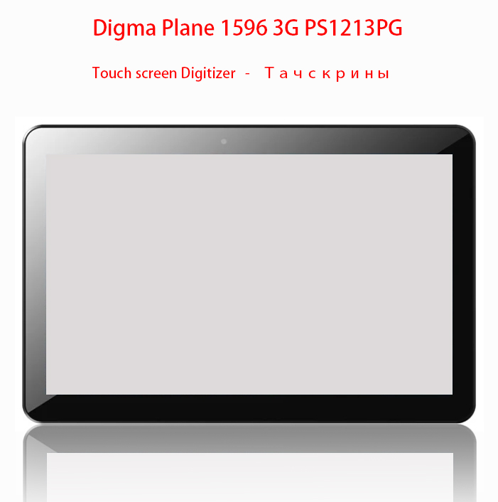 "New For 10.1"" Digma Plane 1596 3G PS1213PG Tablet touch screen panel Digitizer Glass Sensor"