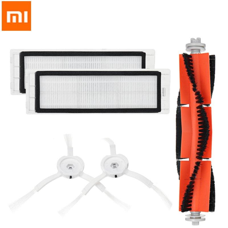 Робот пылесос Xiaomi, основная щетка, фильтры, боковые щетки, аксессуары для XIAOMI MI, робот пылесос, домашний аппликатор, часть|Пылесосы|   | АлиЭкспресс