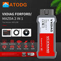VXDIAG VCX NANO для Ford, диагностические инструменты для Mazda OBD2 2 в 1 IDS V117 V114 WiFi сканер для Mazda PCM, ABS, программирование 5,0
