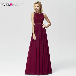 Image 4 - Longues robes de soirée 2020 jamais assez élégant perles une ligne plissée en mousseline de soie dentelle robe formelle robe de soirée EP07391 robe de soirée