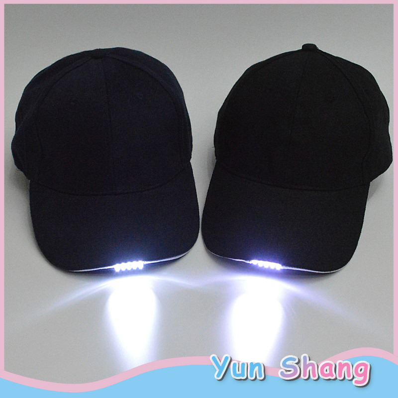 5 LED Outdoor Lighted Cap Flash Hat Fishing Running Hat Flash Men Women Camping Climbing Caps Camouflage Hats For Party