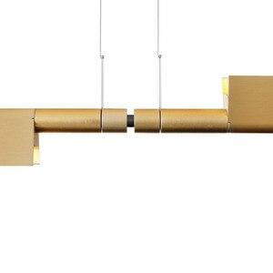 Image 4 - LED つりランプぶら下げランプノルディックライト高級モダンシンプルオフィス LED シャンデリアアートライトレストラン