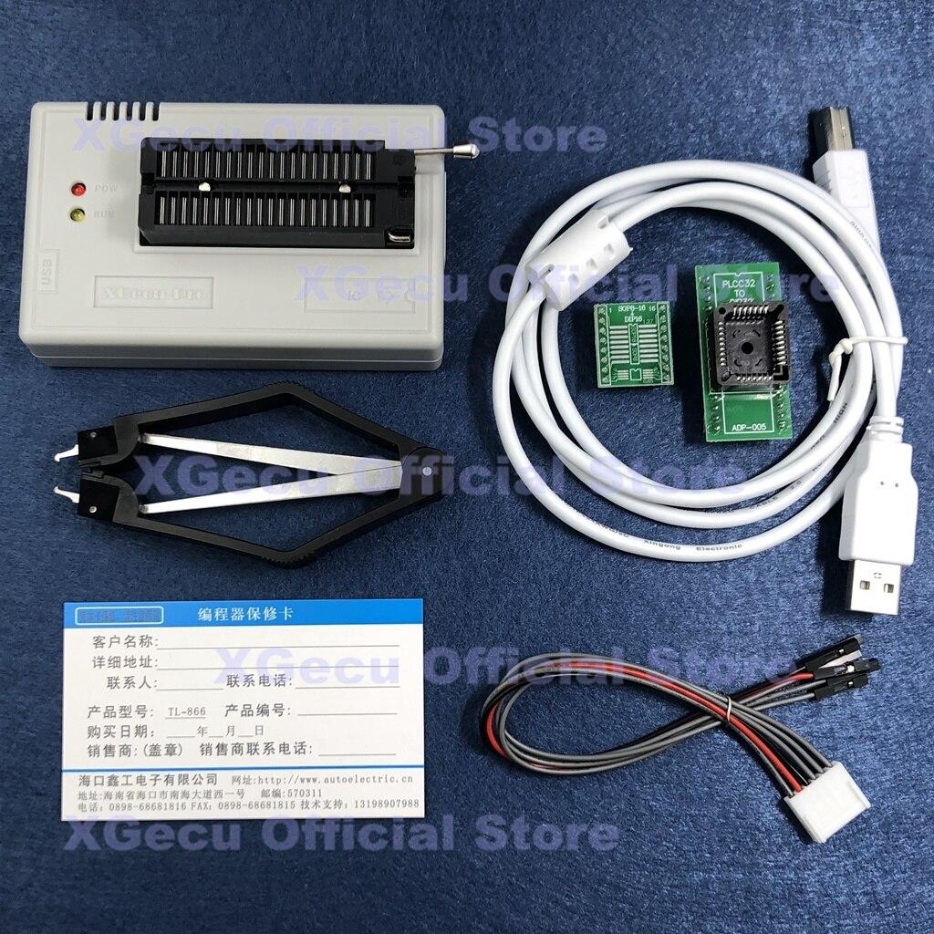 15000 + ic Tl866cs + 2 Soquete Preto Xgecu Mais Suporte Programador Spi Flash Nand Eeprom Mcu Substituir Tl866a Adaptadores V10.13 Tl866ii