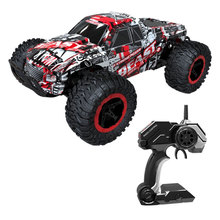 цена на 1:16 2.4G 4WD RC Car High Speed Drift Electric Racing Radio-controlled Off-Road Vehicles Model Toy For Boys Kids Gift