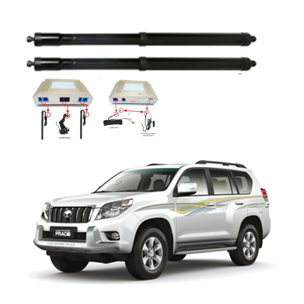 New Electric Tailgate Refitted For Toyota PRADO  Tail Box Intelligent Electric Tail Door Power Tailgate Lift Lock
