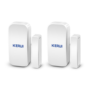 Kerui D025 2PCS Wireless Door Window Magnetic Detector Gap Sensor 433MHz For Home Security Alarm System Touch Keypad