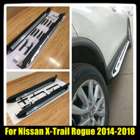 New High Quality Nerf Bars Running Boards Side Steps With Two Styles For Nissan X Trail Rogue 2014 2015 2016 2017 2018
