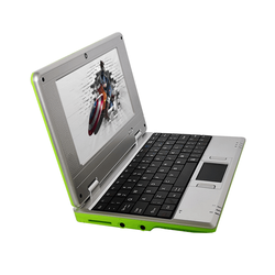 Estudiante ordenador precio bajo 7 pulgadas netbook Android mini portátil de los estudiantes computadora con wifi regalos para los niños de juego de ordenador