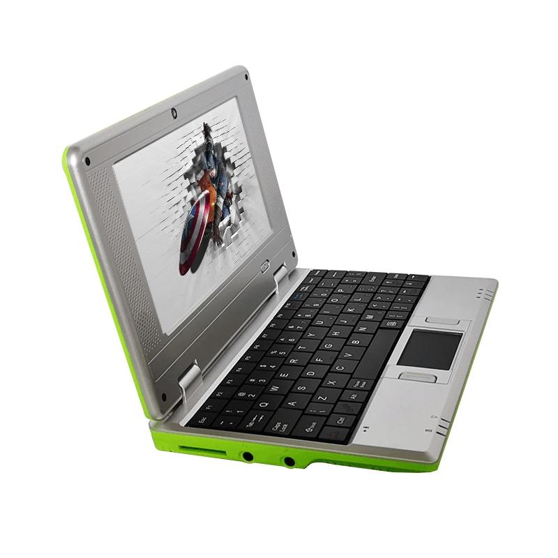 Student computer Niedrigen preis 7 inch Android Netbook mini laptop studenten computer mit wifi Geschenke für kinder Gaming computer