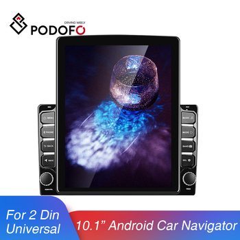 "Podofo 2 Din Android 8.1 Car Multimedia Player 9.7 "" GPS Wifi Car Radio Autoradio Audio Stereo For VW Nissan Hyundai Toyota CR-V"