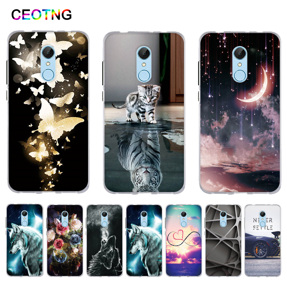Case for Xiaomi Redmi 5 Redmi5 Case Soft Silicone Cover for Xiaomi Redmi 5A Cover TPU Coque for Xiaomi Redmi 5 Plus Redmi Note 5