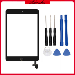 Touch screen digitizer Glass Panel Replacement For ipad mini A1432 A1454 A1455 A1489 A1490 A1491 Tablet Screen For ipad mini 1/2(China)
