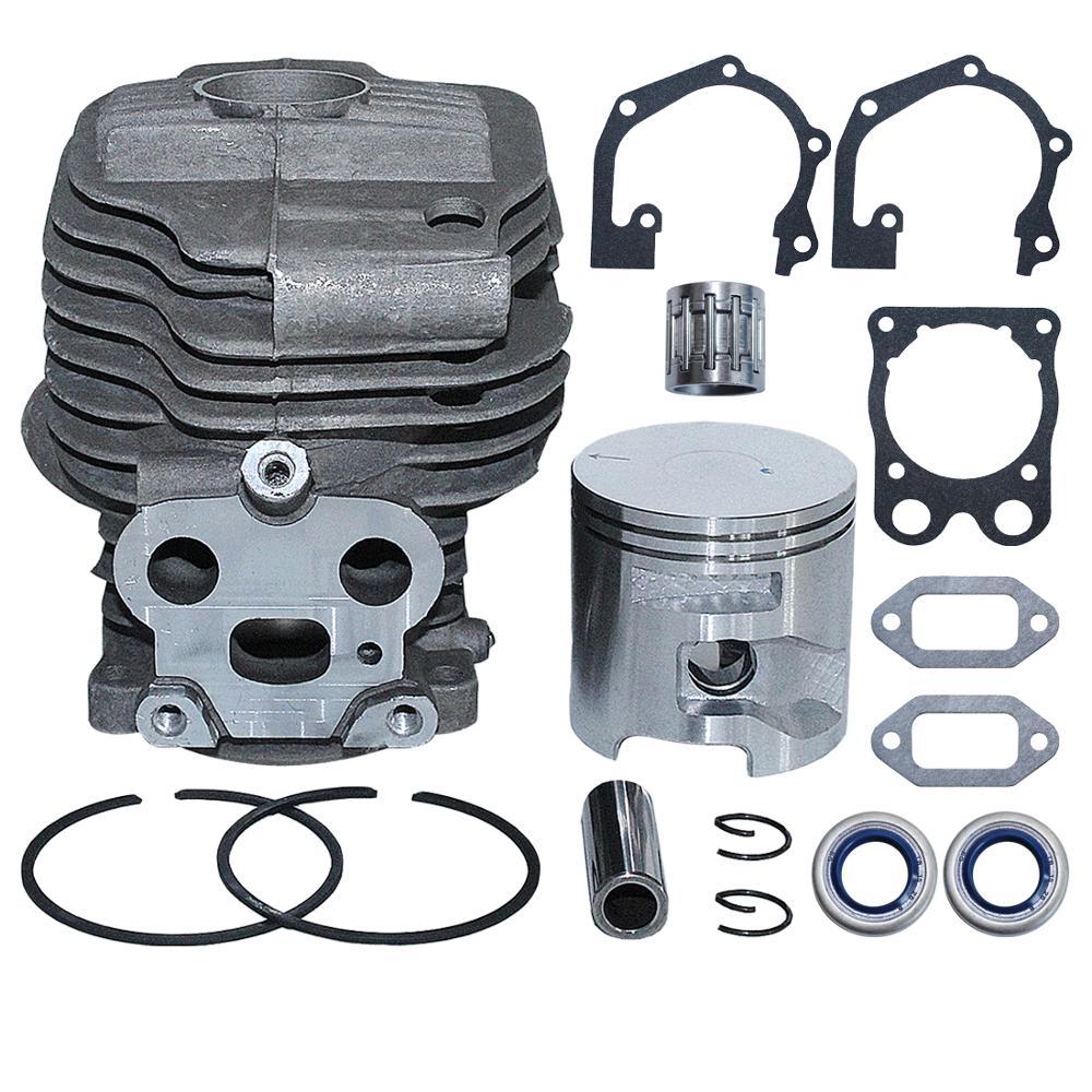51mm Cylinder Piston Gasket Oil Seal Bearing Kit For Husqvarna K750  K760 Concrete Saw 506 38 61-71 581357401