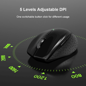 Image 2 - TeckNet Alpha Ergonomic Mice 2.4GHz Wireless Mouse Silent Button with USB Nano Receiver for Laptop Computer 3000/2000/1600/1200