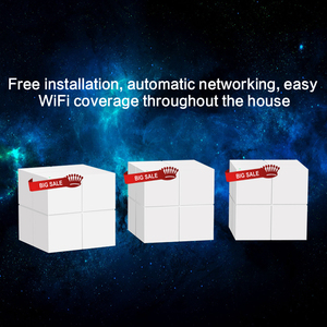 Image 5 - 3PCS GLNova GLW6 Whole Home Mesh WiFi System, 11AC Dual Band Wireless Router Wi Fi Repeater, Works with Alexa, Plug and Play